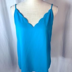 LG lola grace Turquoise Blue Cami/Tank Top Size L